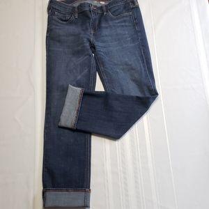 J.CREW Dark Wash Matchstick Jeans